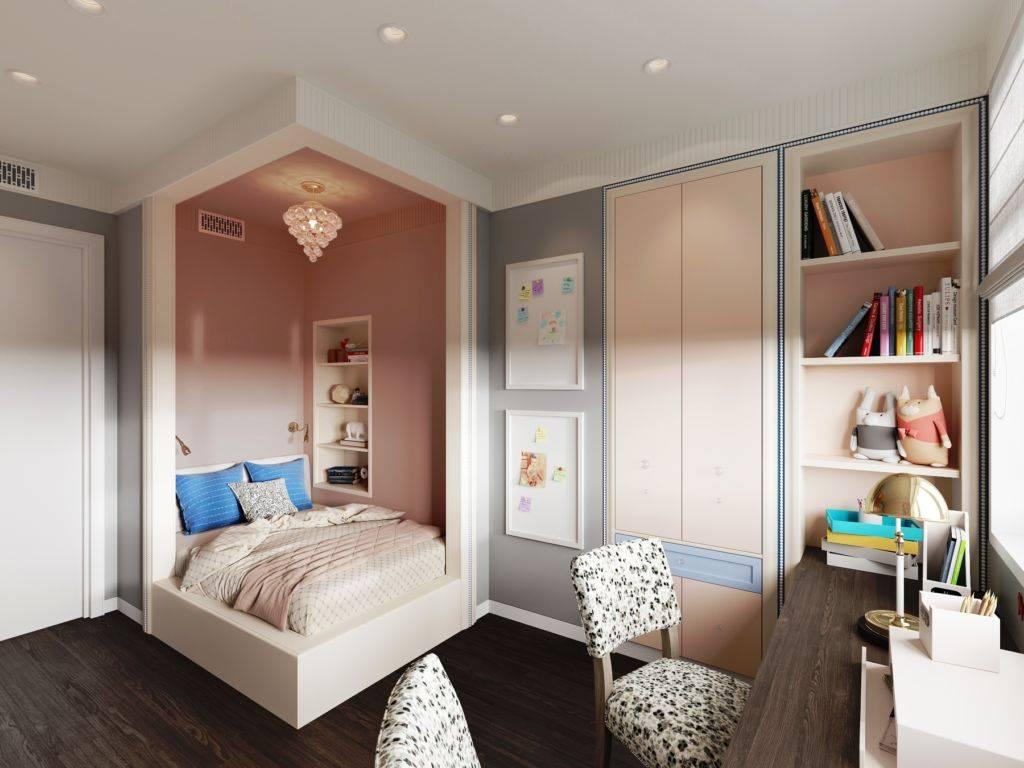 Детская комната 10 кв. м. - варианты идеального дизайна в современном стиле (60 фото)