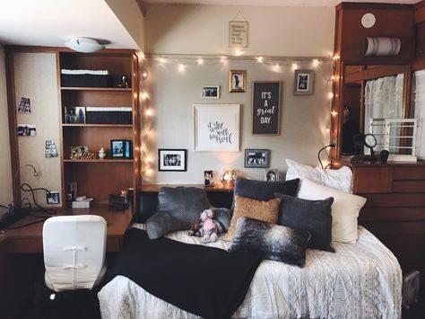 На что обратить внимание при обустройстве маленькой комнаты в общежитии, зонирование и выбор предметов мебели - 28 фото