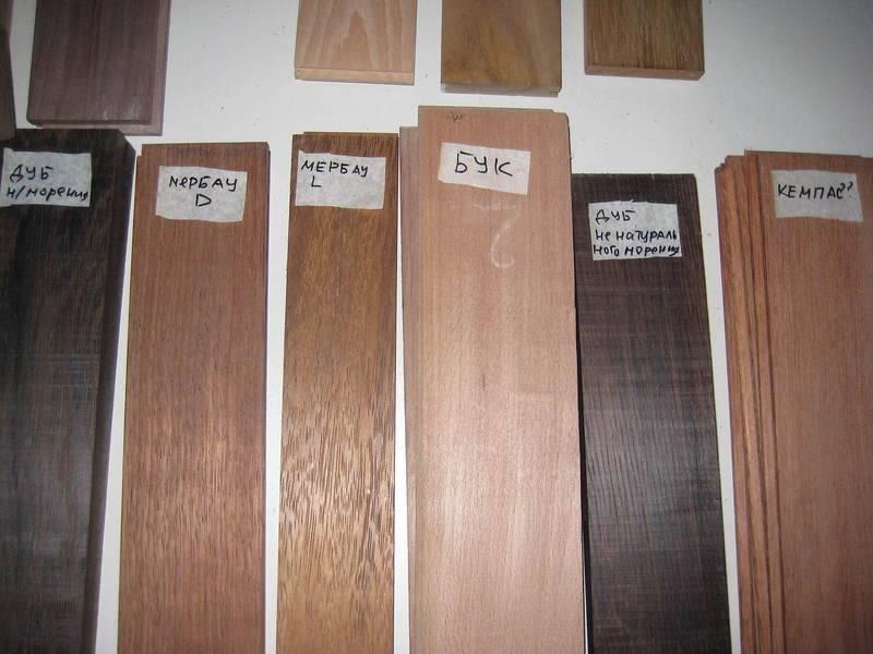 Морилка для дерева, или чем тонировать древесину