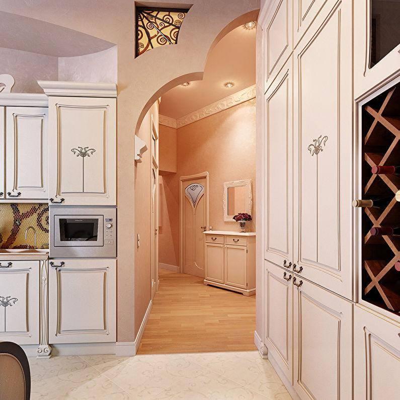 Красивые варианты дизайна арок в интерьере квартиры