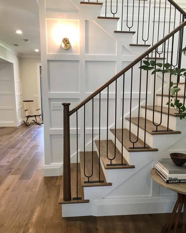 Лестница в доме: виды и идеи современного дизайна (40 фото)