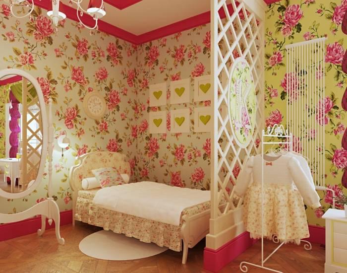 Современные варианты обоев для подростковой комнаты мальчика и девочки