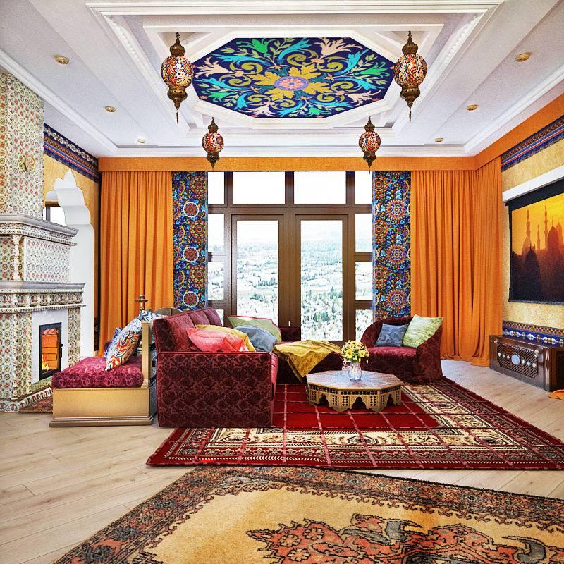 Восточный стиль в интерьере - фото и основные черты восточного интерьера