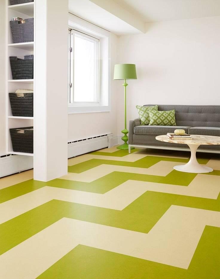 Как правильно выбрать линолеум по цвету в разные комнаты
