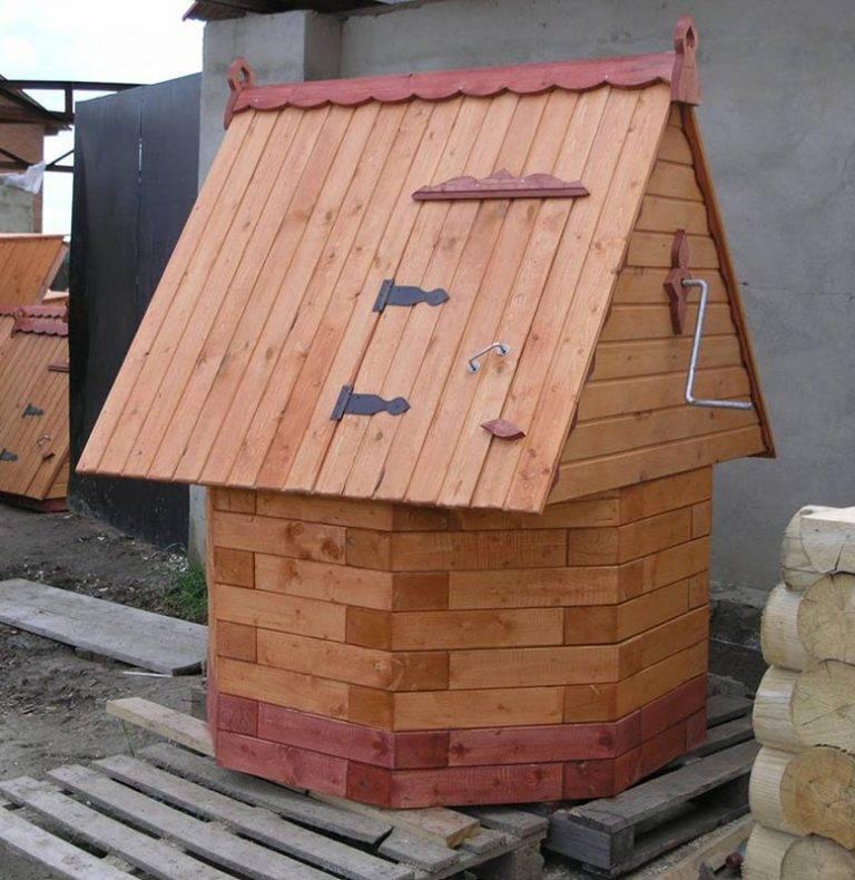 Домик для колодца: предназначение, инструменты и материалы, этапы строительства своими руками
