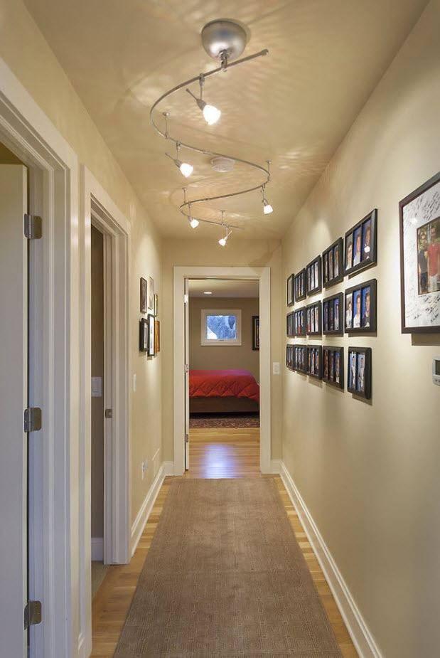 Варианты освещения в прихожей и коридоре