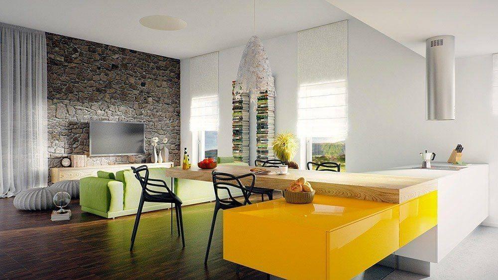 Обои для современной гостиной — дизайнерские идеи