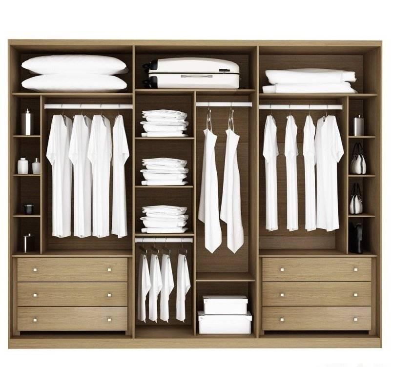 Внутреннее наполнение шкафа-купе в спальне: 51 фото, примеры - domwine