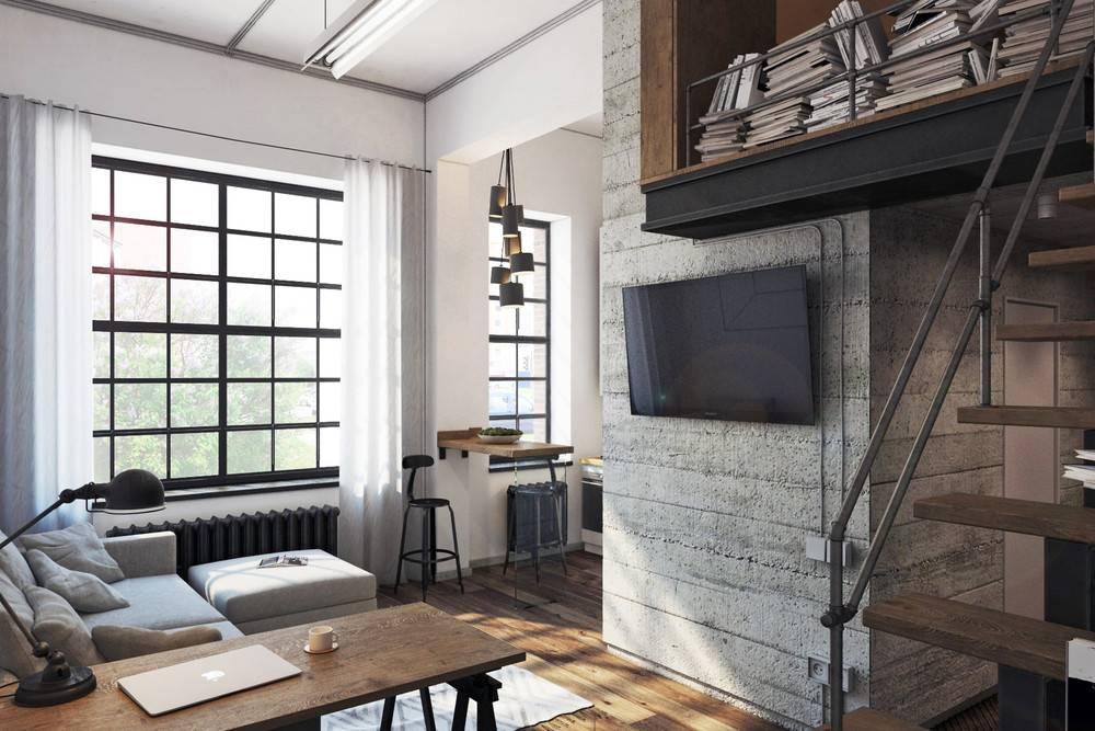 Дизайн однокомнатной квартиры площадью 30 кв. м: примеры оформления