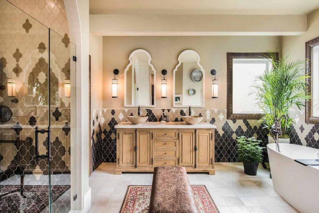 Модные ванные комнаты 2020-2021 года - какие узоры, цвета и тенденции в тренде (+57 фото) | дизайн и интерьер ванной комнаты