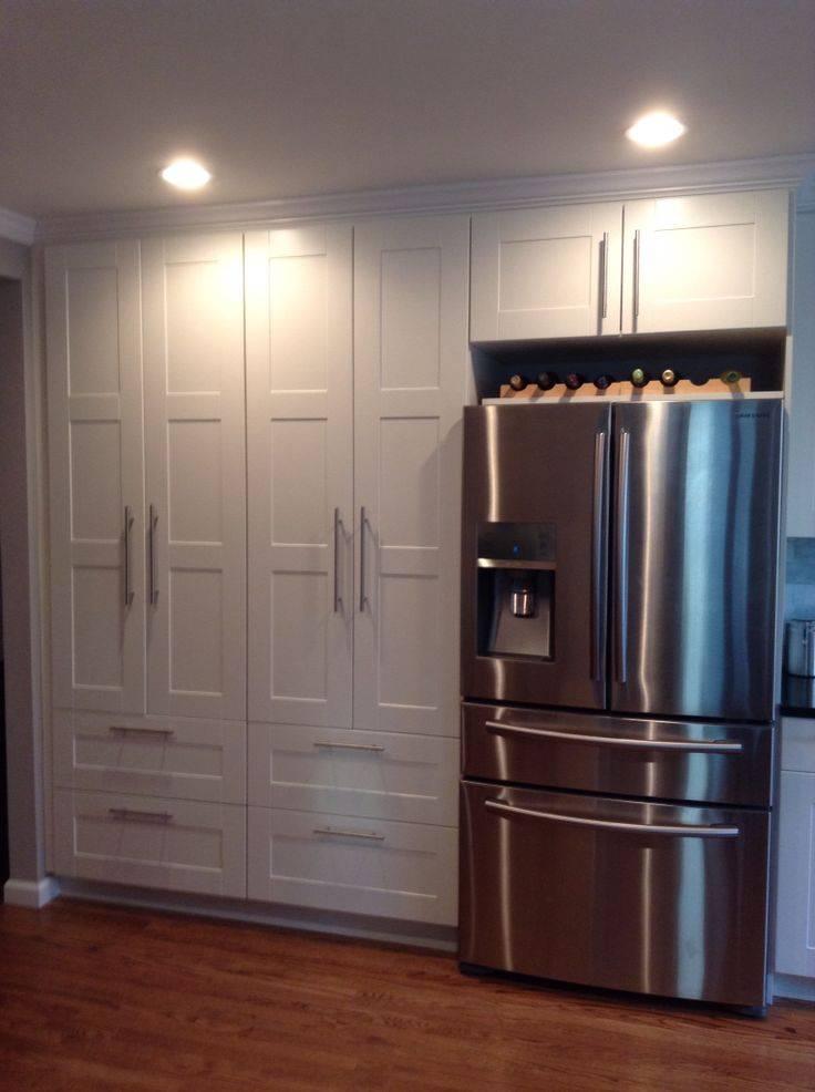 Холодильник в коридоре: дизайн интерьера с экономией пространства - smallinterior
