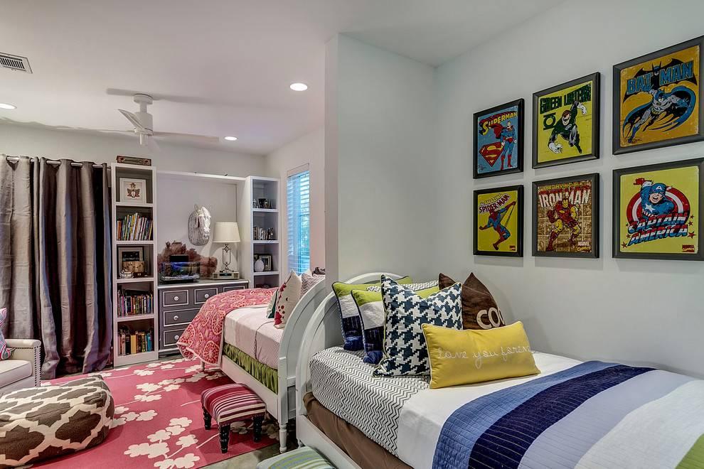 Дизайн детской комнаты: разнообразие стилей и цветовых решений