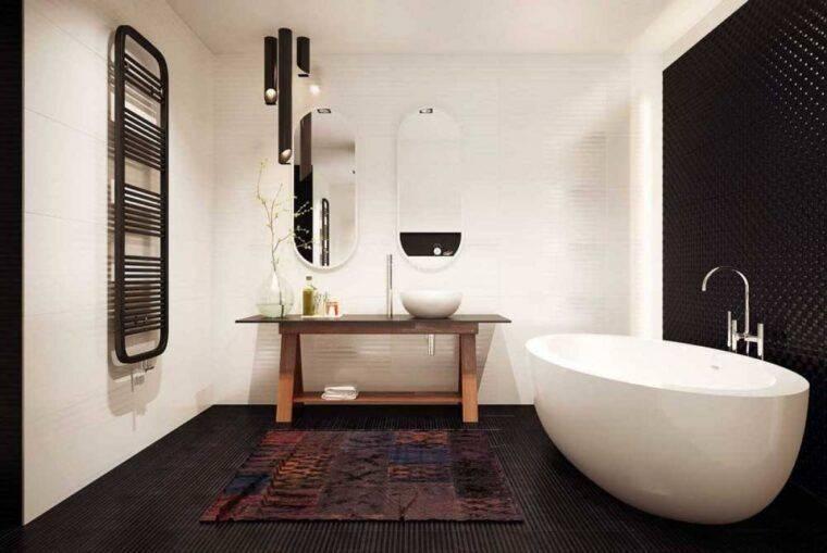 Новинки дизайна ванной комнаты 2020 года: современные стили в дизайне. новинки в отделке камнем и деревом. особенности 3d дизайна. цветовая гамма ванной комнаты (фото + видео)