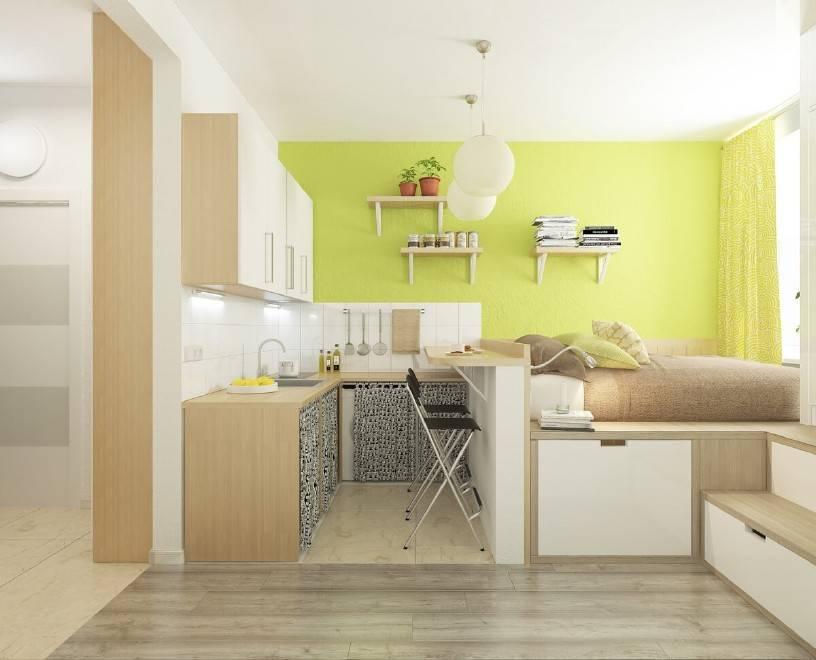 Дизайн квартиры студии 24 кв м: как создать шедевр интерьер и дизайн