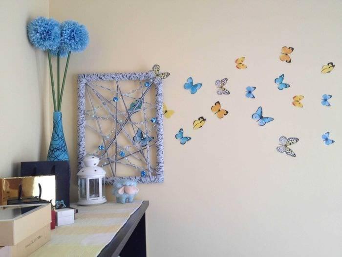 Красивое украшение детской комнаты