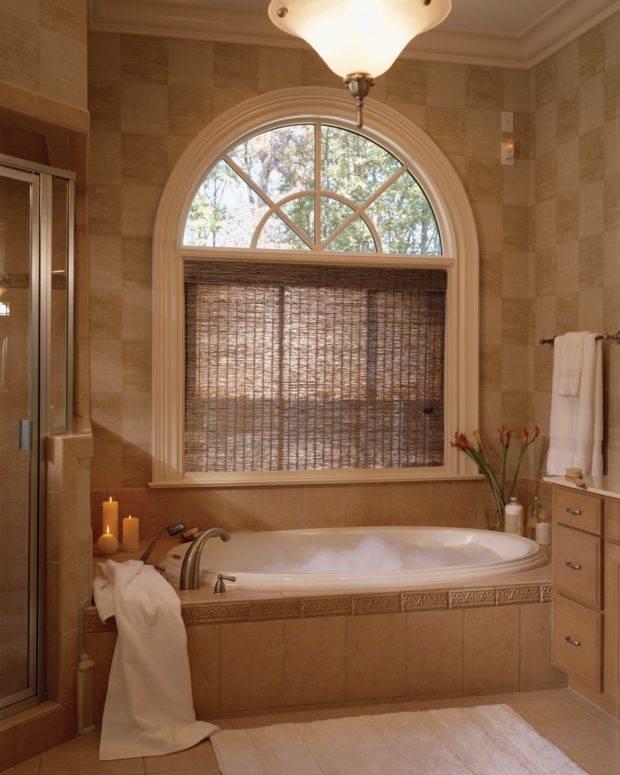Ванная с окном: правила и реальные фотографии удачных интерьерных решений (65 фото)   дизайн и интерьер ванной комнаты