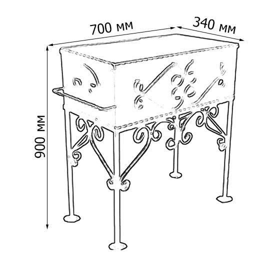 Мангал своими руками: чертежи и пошаговая инструкция