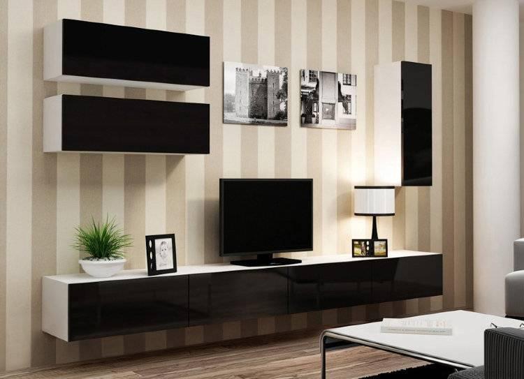 Классическая стенка в гостиную. какие бывают и как выбрать? фото самых интересных моделей + советы по их сочетанию в интерьере