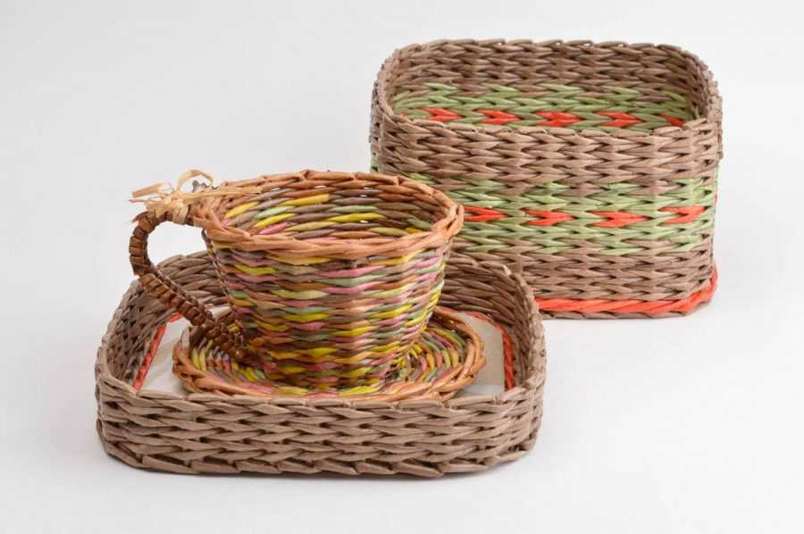 Корзина из газетных трубочек: 100 фото, схемы лучших моделей и советы начинающим по плетению корзин