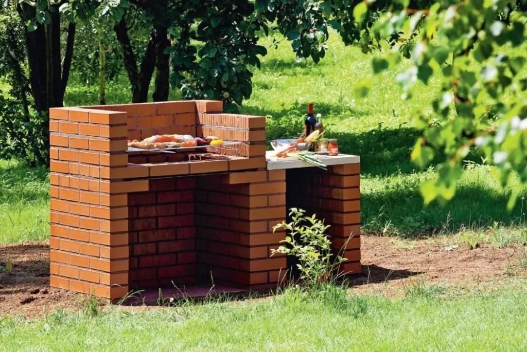 Мангал из кирпича своими руками - 110 фото практичных, эффективных и стильных вариантов стационарных мангалов