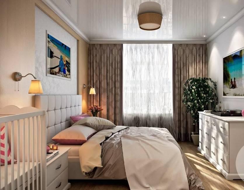 Дизайн спальни 12 кв. м