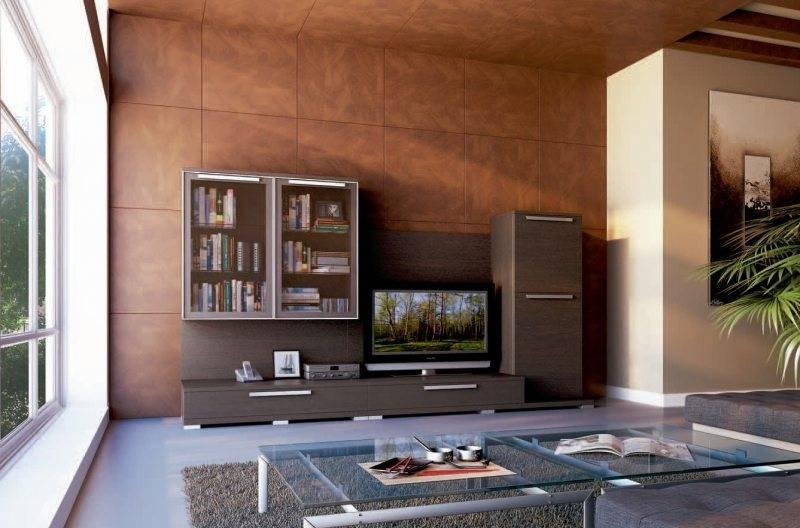 Модульная гостиная — 75 фото идей обустройства интерьера