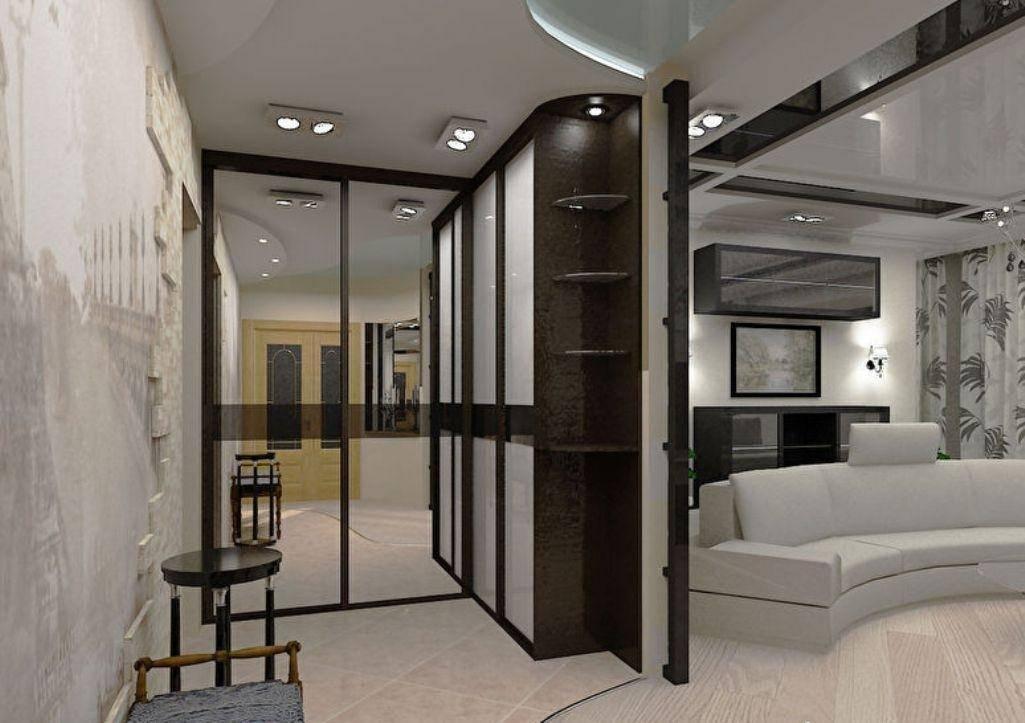 Кухня в коридоре: как правильно совместить и оформить