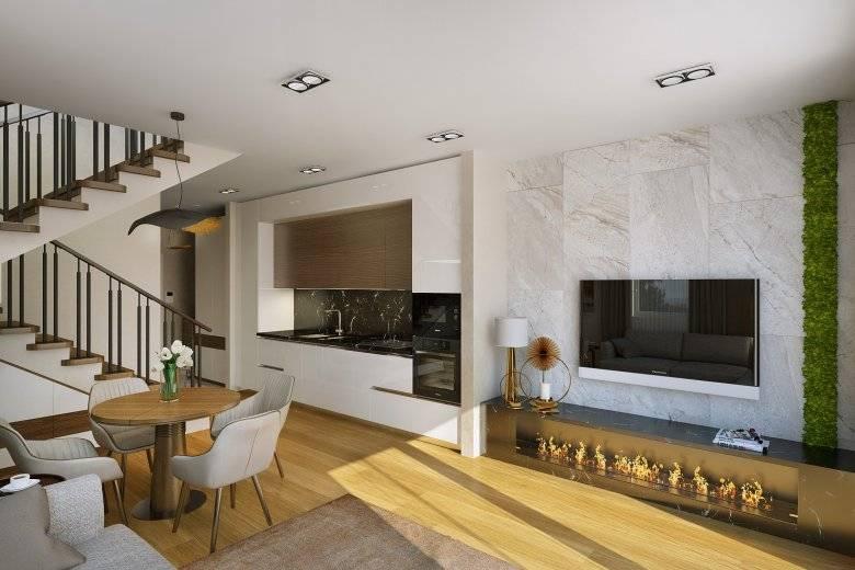 Таунхаус (112 фото): что это такое в недвижимости? плюсы и минусы дома на 2 семьи. как выглядит внутри и снаружи? отзывы владельцев