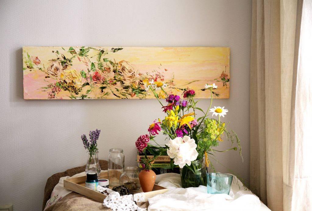 Рисунки на стенах в квартире — техники росписи и интересные идеи
