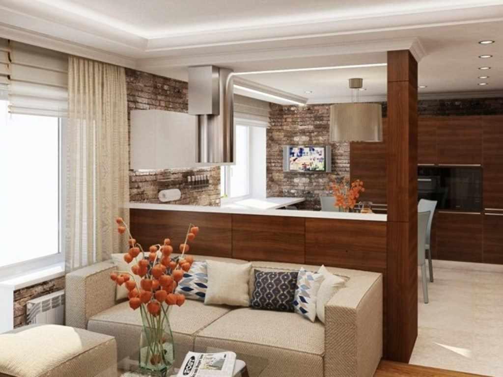 Дизайн кухни-гостиной 20 кв.м: стили, цветовое оформление и варианты отделки
