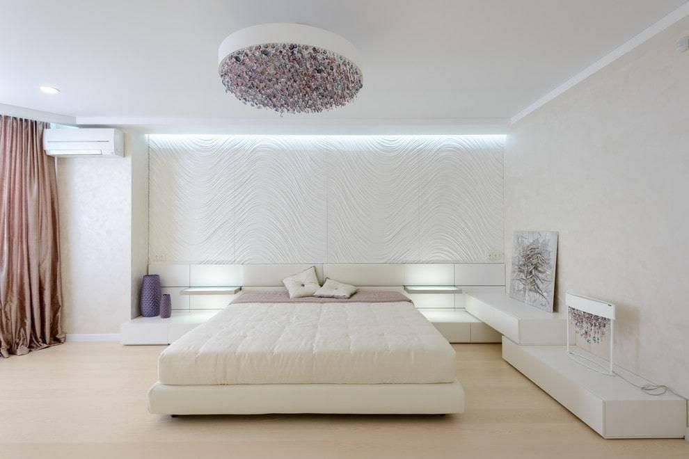Дизайн светлой спальни — 150 фото новинок необычного сочетания и оформления спальни