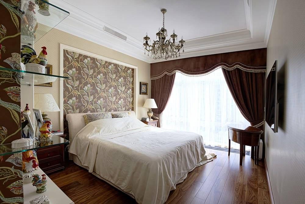 Дизайн обоев в спальне: комбинирование — 40 фото идей интерьера