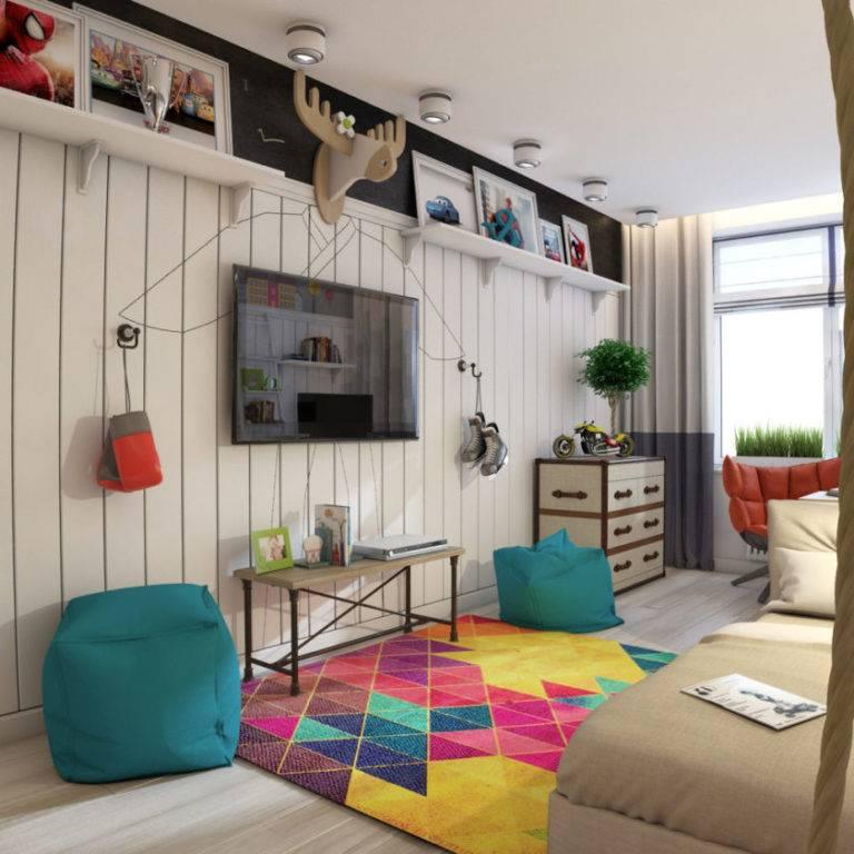 Детская комната для мальчика, дизайн - фото примеров