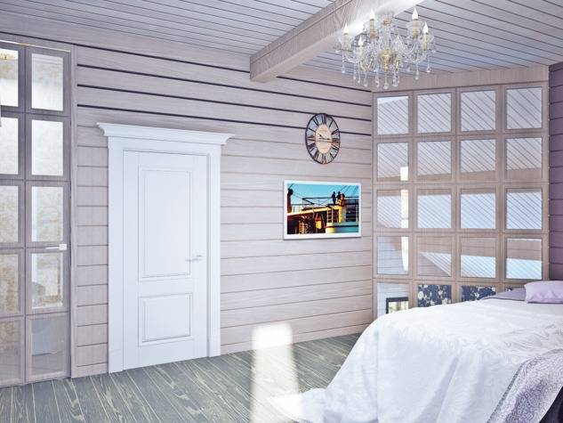 Узнаем, чем можно покрасить вагонку внутри дома на даче