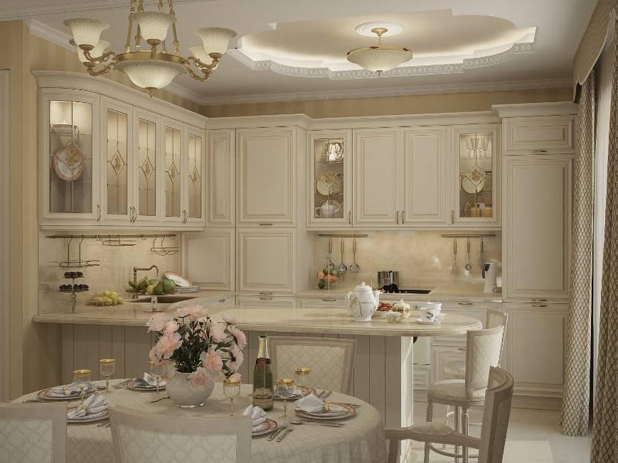 Кухня в классическом стиле: 105 фото, на чем можно и нельзя экономить, секреты оформления