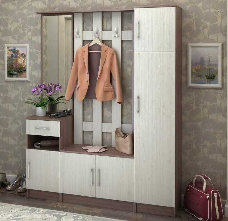 Маленькие шкафы для одежды: мини-модели для прихожей и коридора, небольшие мебельные изделия для комнаты