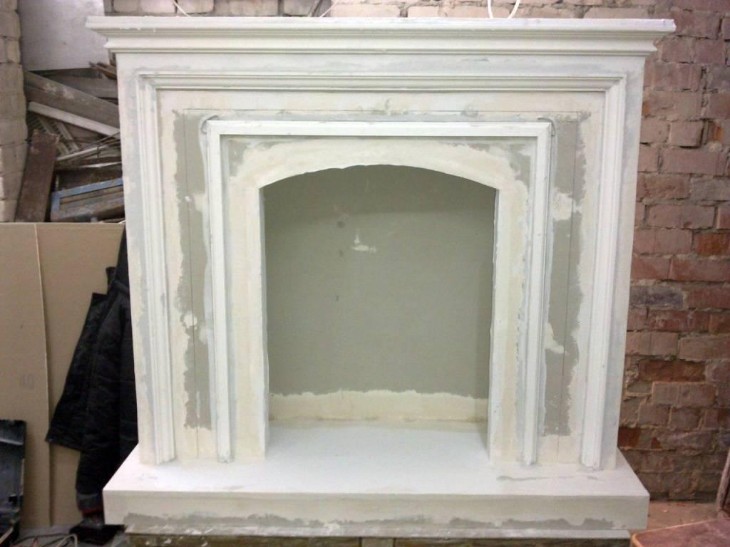 Фальш-камин: материалы изготовления и дизайн