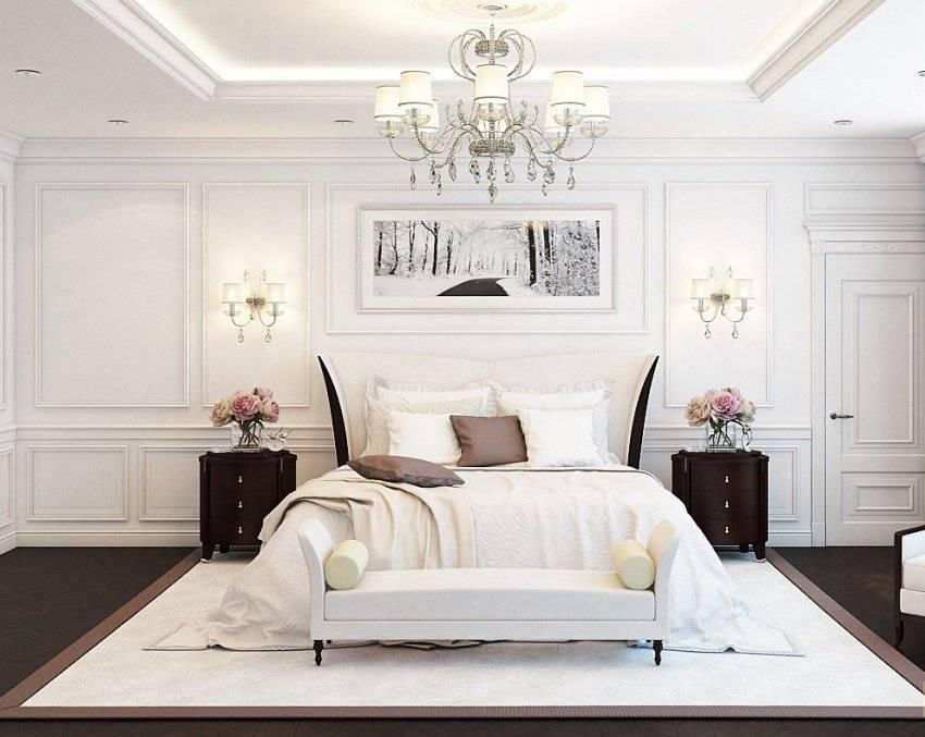 Спальня в классическом стиле (113 фото): классика в дизайне интерьера