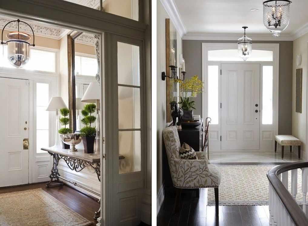 Прихожая в частном доме — примеры лучшего дизайна и советы по выбору мебели, освещения и вариантов отделки