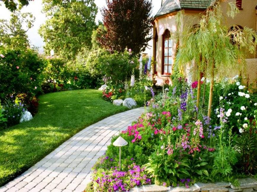 Сад в английском стиле на вашем участке - 64 фото примера