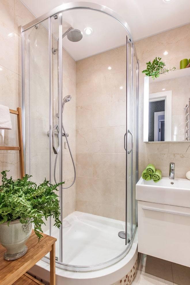 Дизайн ванной комнаты с душевой кабиной и туалетом — правила организации помещения