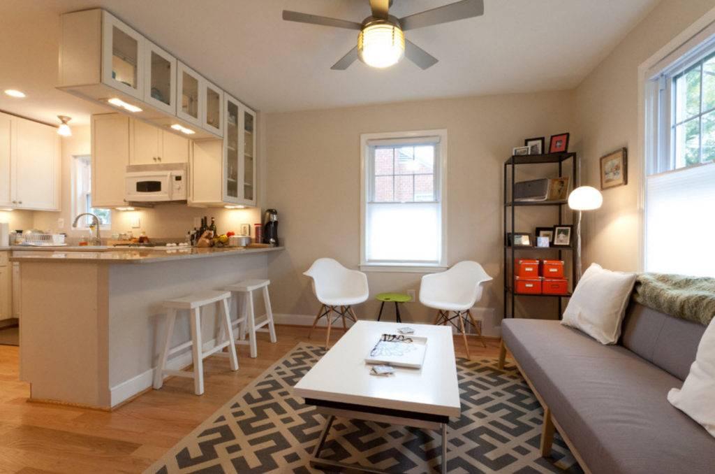 Разделяем гостиную: лучшие методы зонирования с помощью дизайна интерьера, 125 фото
