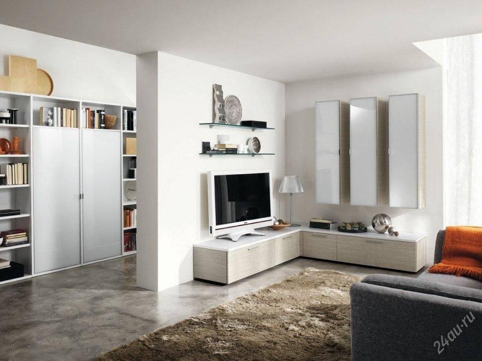 Современные стенки в гостиную (74 фото): красивые угловые и мини модели в зал в современом стиле, белые и черные в стильном интерьере