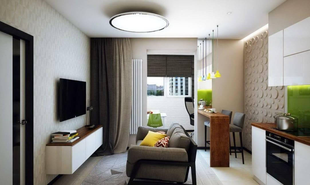 Гостиная в хрущевке: обзор модных трендов и идей в создании интерьера (нюансы оформления маленького и большого зала)
