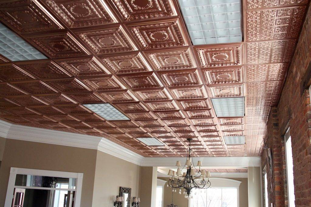Декор потолка — идеи оформления