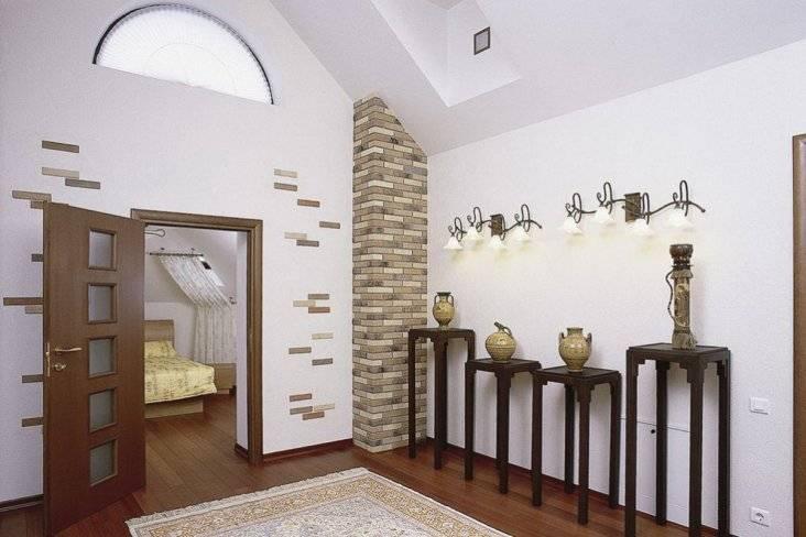 Декоративный кирпич для внутренней отделки: размеры, технология монтажа, фото интерьера, цены