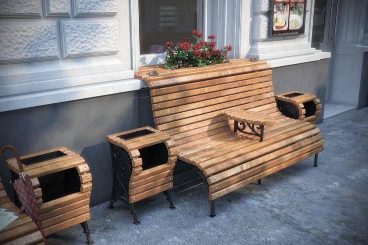 Скамейки из металла и дерева (33 фото): чертежи уличных садовых лавочек для дачи. как сделать скамью со спинкой своими руками? виды и размеры изделий