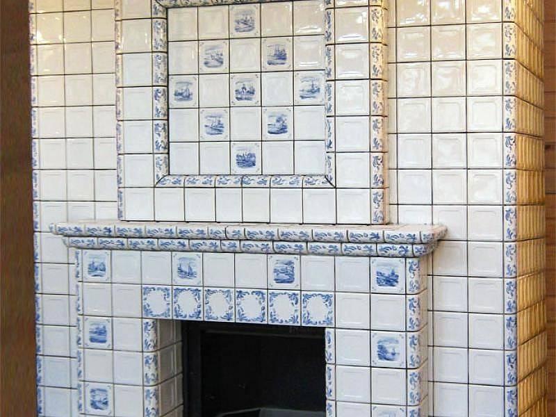 Какую плитку лучше использовать для облицовки печей и каминов