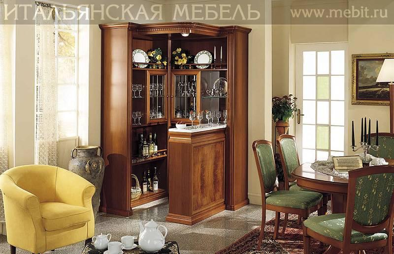 Особенности выбора витрин в дизайн гостиных комнат