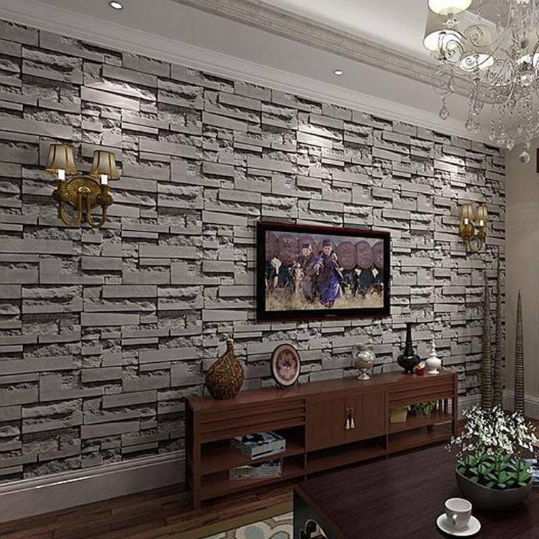 Гипсовый декоративный камень в интерьере: новые возможности (23 фото)